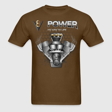 V8 Engine - Men's T-Shirt