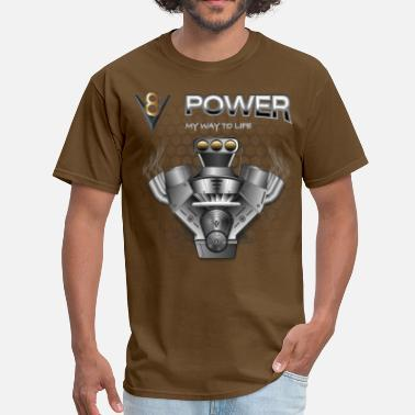 Small-block V8 Engine - Men's T-Shirt