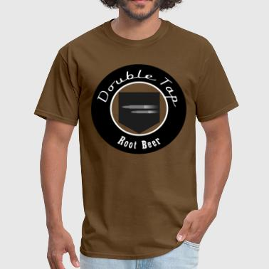 Double Tap Root Beer (Black) - Men's T-Shirt