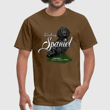 working_spaniel - Men's T-Shirt