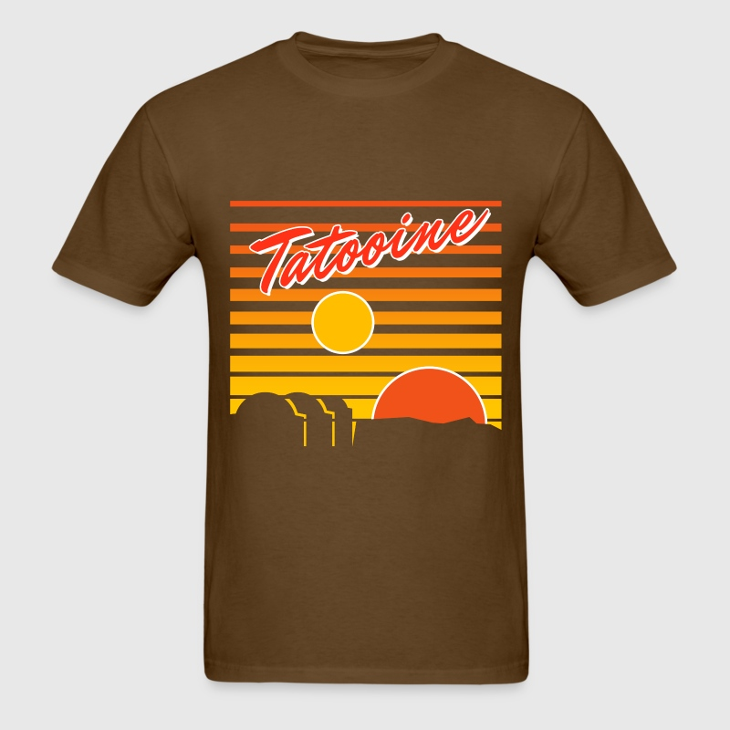 Tatooine travelTatooine travel poster - Men's T-Shirt