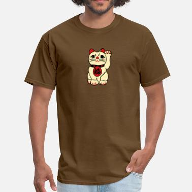 Luck good fortune cat - Men's T-Shirt