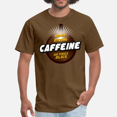 Black Powder Gun powder black caffeine - Men's T-Shirt