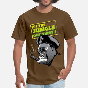Gorila It's the jungle out there ! - Men's T-Shirt