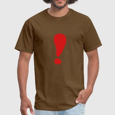 Exclamation mark - Men's T-Shirt