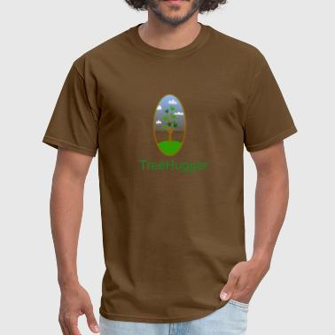 tree hugger nature lover tee - Men's T-Shirt