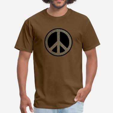 Peace Rock peace rusty - Men's T-Shirt
