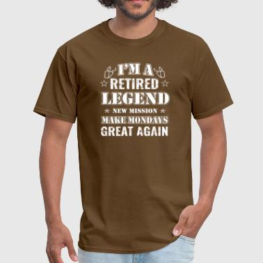 Veteran Military Retirement Gifts - Men's T-Shirt