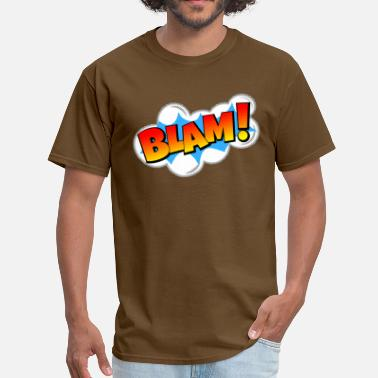 Blam BLAM! Comic Book Explosion - Men's T-Shirt