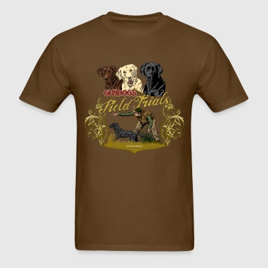 gundogs_field_trials - Men's T-Shirt