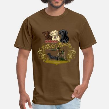Labrador Retriever gundogs_field_trials - Men's T-Shirt