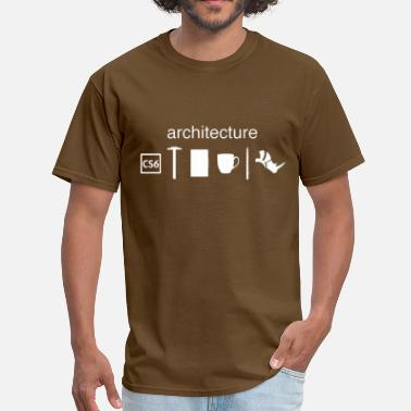 Funny Architecture Architecture - Men's T-Shirt