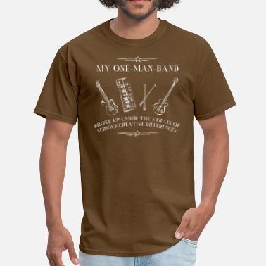 One Man Band My One-Man-Band - Men's T-Shirt