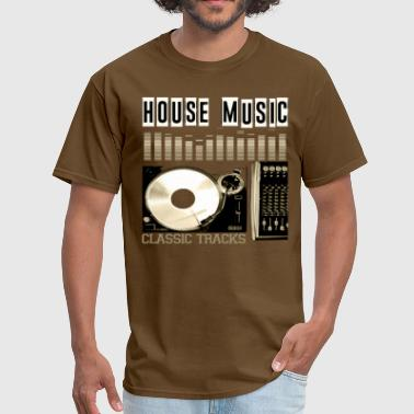 HOUSE MUSIC CLASSIC TRACKS - Men's T-Shirt