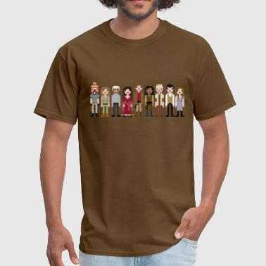 Firefly Cast Cross Stitch - Men's T-Shirt
