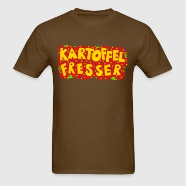 Kartoffelfresser German Deutschland Potatoe Nature - Men's T-Shirt