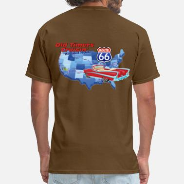 Old Timer Old Timers Cruisin Cars - Men's T-Shirt
