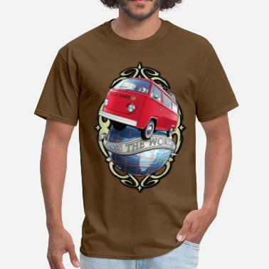 T2 T2 Bus - Cross the World - Men's T-Shirt