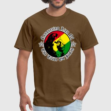 Conquering Lion Of Judah conquering lion of the tribe of judah - Men's T-Shirt