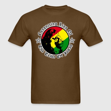 conquering lion of the tribe of judah - Men's T-Shirt