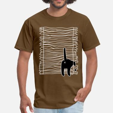 Window Cat Cat Versus Humans mp - Men's T-Shirt