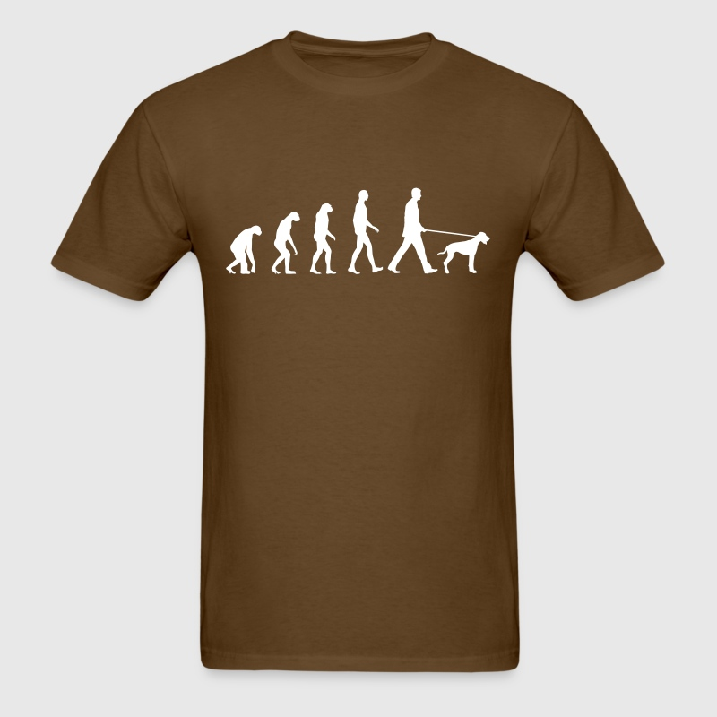 Evolution dog - Men's T-Shirt