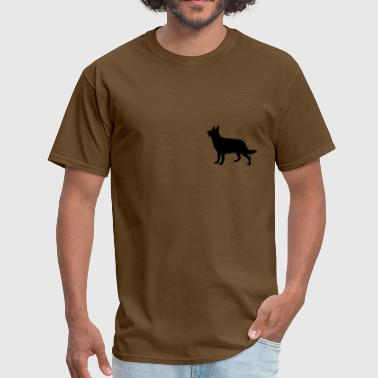 Berger Allemand Dog, Hund, Chien, Perro, Cane, Hond - Men's T-Shirt