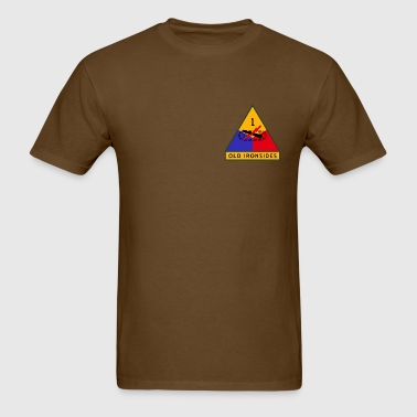 1st US Armored Division - Men's T-Shirt