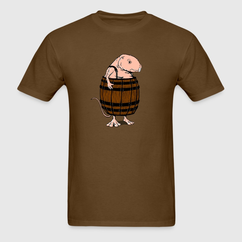 naked mole rat - Men's T-Shirt