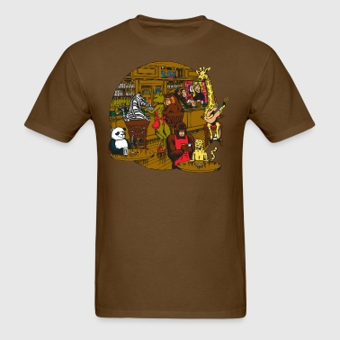 Animal Bar cartoon - Men's T-Shirt