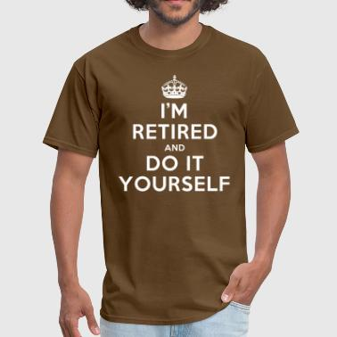 funny_retired - Men's T-Shirt