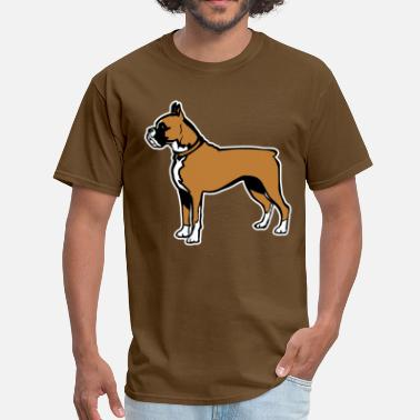 Custom Dog Breed Dogs Boxer Breed - Men's T-Shirt