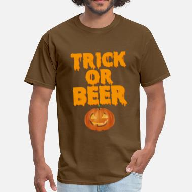 TRICK OR BEER - halloween - Men's T-Shirt