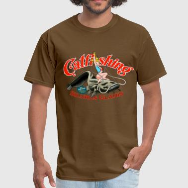 catfishing girl - Men's T-Shirt