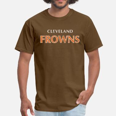 The Struggle Continues Cleveland Frowns T-Shirt - Men's T-Shirt