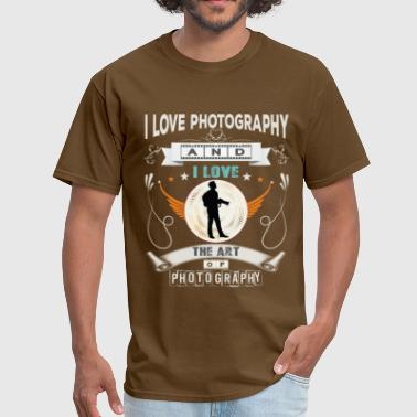 Photography Art I love photography, and I love the art photography - Men's T-Shirt