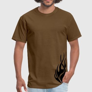 tribal flame - Men's T-Shirt