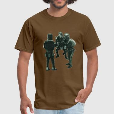 Vintage Siebe Gorman Divers with Diving Helmets - Men's T-Shirt