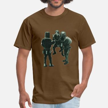 Rebreather Vintage Siebe Gorman Divers with Diving Helmets - Men's T-Shirt
