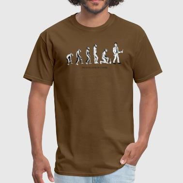 The Evolution Of Coffee - Men's T-Shirt