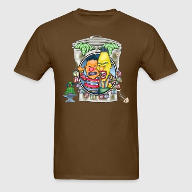 Evil Clown Ernie N' Bert - Men's T-Shirt