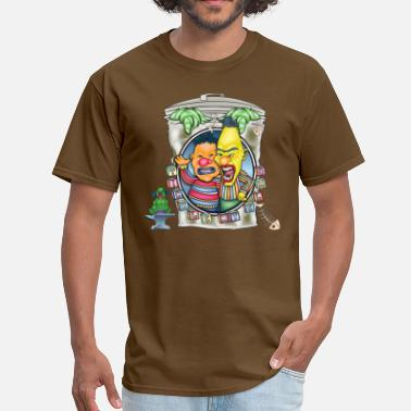 Sesame Evil Clown Ernie N' Bert - Men's T-Shirt