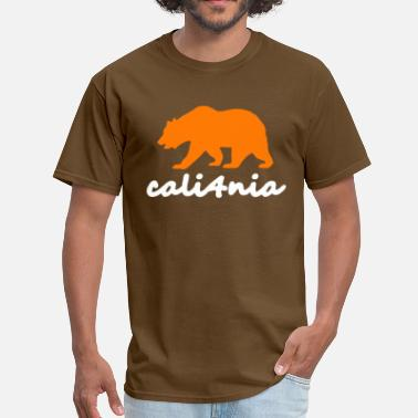 Orange Bear CALIFORNIA Orange Bear - Men's T-Shirt