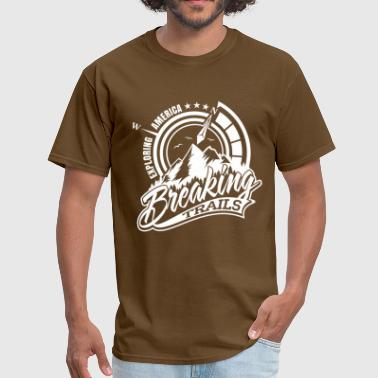 Nature Trail BREAKING TRAILS - Men's T-Shirt