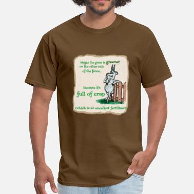 Grass Grass is Greener - Men's T-Shirt