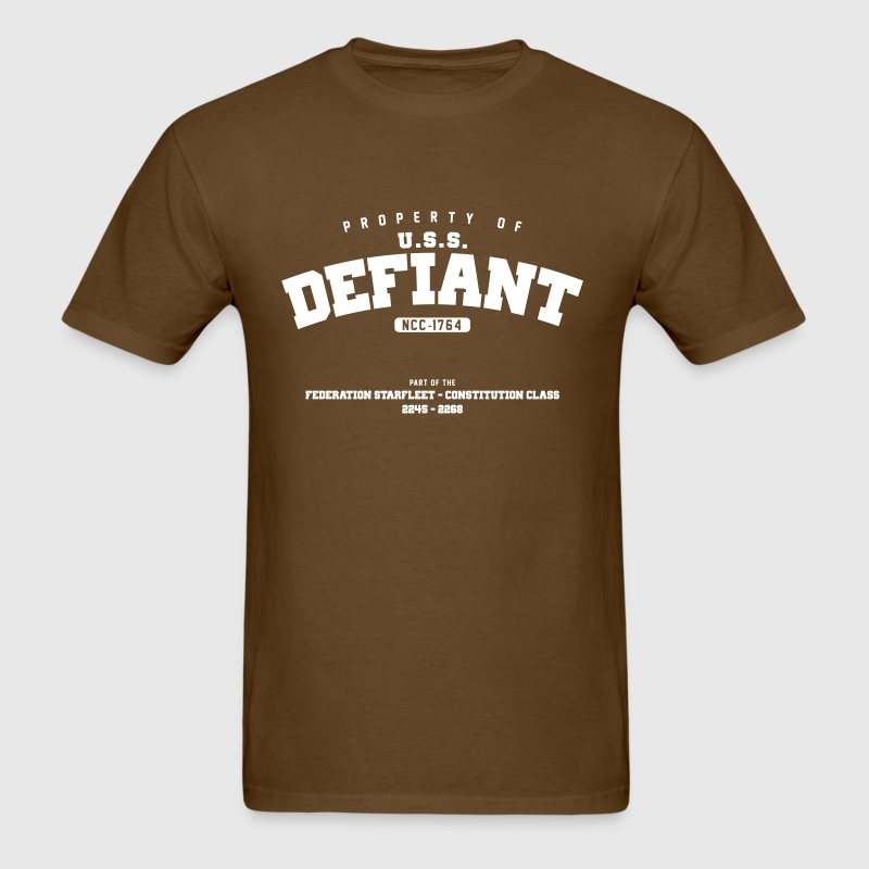 USS Defiant - Men's T-Shirt