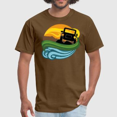 Cool Jeep geep - Men's T-Shirt