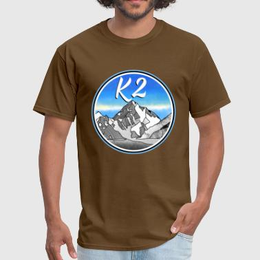 k2 Mountains - Men's T-Shirt