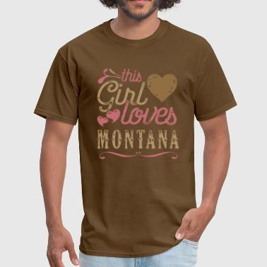This Girl Loves Montana - Men's T-Shirt