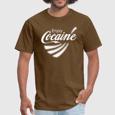 Legalize Drugs Enjoy Cocaine v2 - Men's T-Shirt